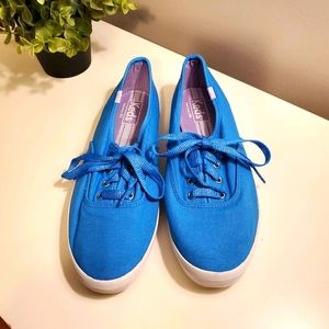 Keds blue sneakers, size 8